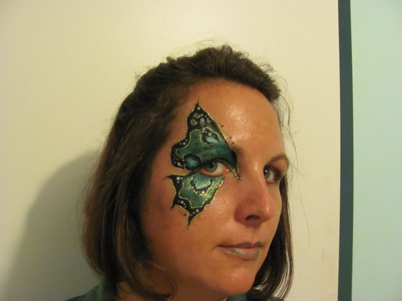 Facepainting Butterflies Masks Amp Beautiful Nothings You Name It Face Amp Body Art Kingston